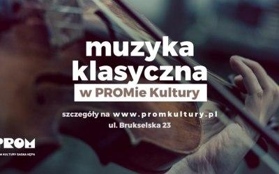 2019-09-22: Wieczory z muzyką klasyczną: barok na PROMie