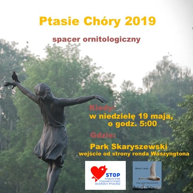 2019-05-19: Ptasie Chóry w Parku Skaryszewskim