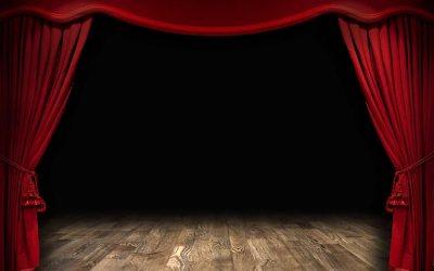 """2019-11-16: Poranek teatralny dla dzieci pt. """"Przygody bociana"""""""