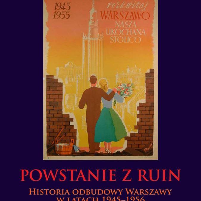 2019-07-04: Historia odbudowy Warszawy // spotkanie o książce Roberta Nowaka