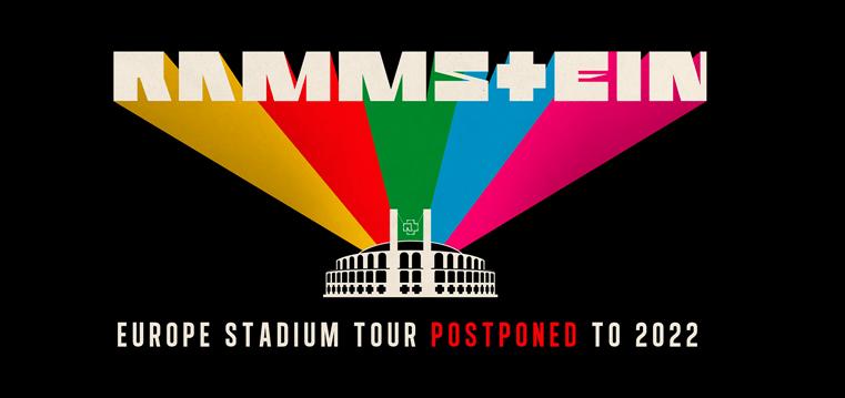 2022-07-16: Rammstein: Europe Stadium Tour 2020 – zmiana daty!!!