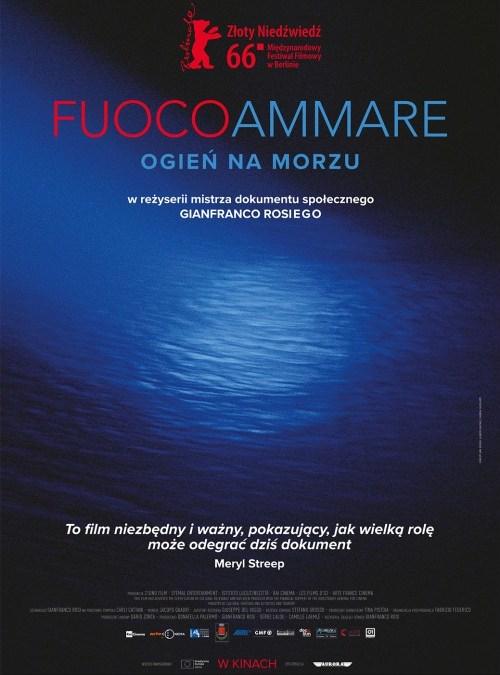 2019-07-23: LATO Z KINEM Włoskim: Fuocoammare. Ogień na morzu