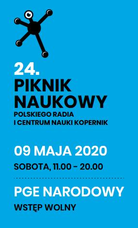 """2020-05-09: XXIV Piknik Naukowy Polskiego Radia i Centrum Nauki Kopernik """"Zmieniamy klimat"""""""