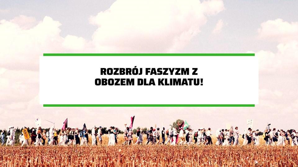2019-11-03: Rozbrój faszyzm z Obozem dla Klimatu //dyskusja i malowanie