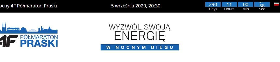 2020-09-05: VII Nocny 4F Półmaraton Praski