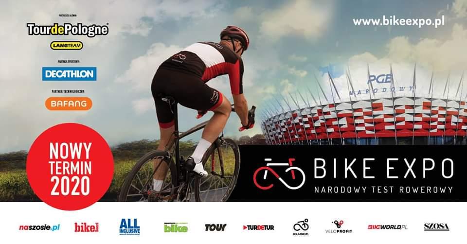 2021-04-10: BIKE EXPO – Narodowy Test Rowerowy – zmiana terminu!