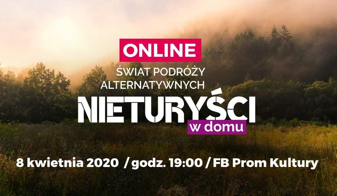 2020-04-08: Nieturyści Online: Świat podróży alternatywnych