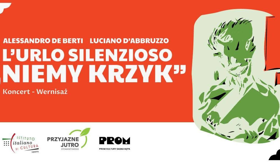 2020-10-24: NIEMY KRZYK – koncert muzyki włoskiej oraz wernisaż