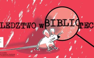 """2020-10-29 do 11-26: """"Śledztwo w bibliotece"""" – wirtualny escape room już wkrótce!"""