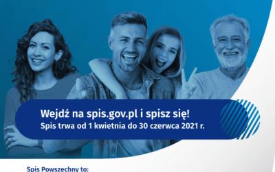 2021-04-01 do 2021-06-30: Narodowy Spis Powszechny Ludności i Mieszkań 2021