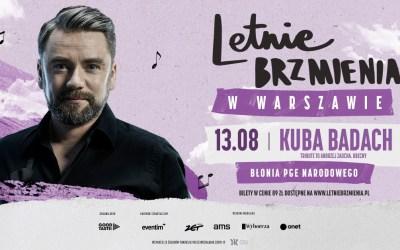 2021-08-13: Letnie Brzmienia na Błoniach PGE Narodowego: Kuba Badach – Tribute to Andrzej Zaucha. Obecny