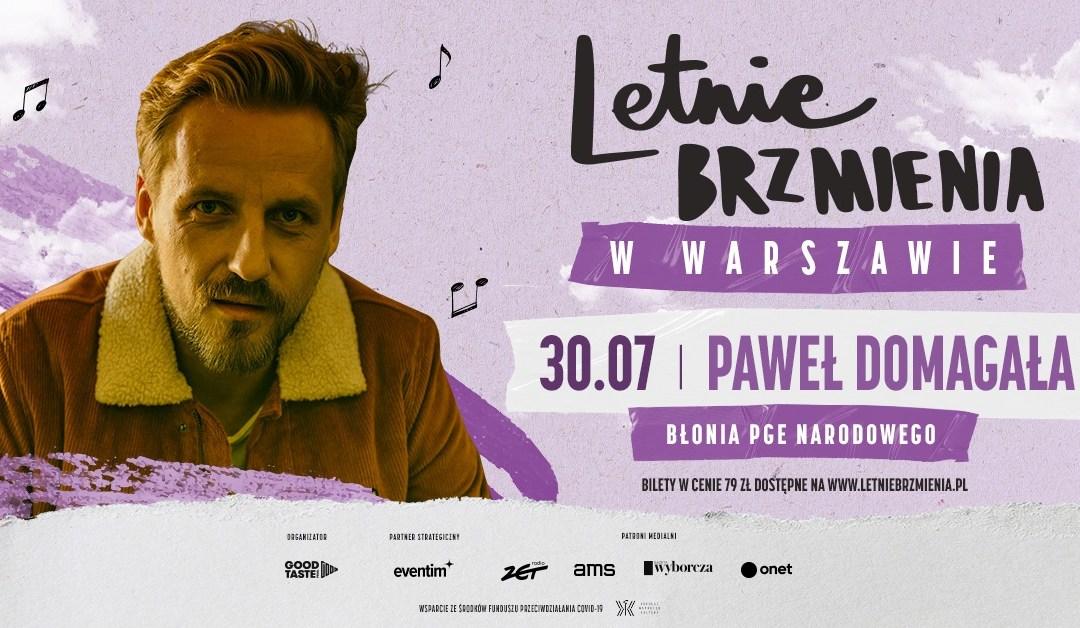 2021-07-30: Letnie Brzmienia na Błoniach PGE Narodowego: Paweł Domagała