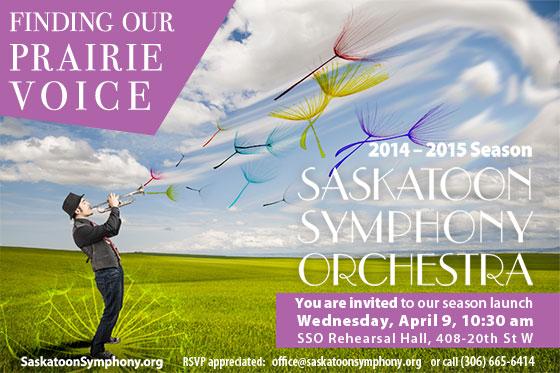 Invitation - 2014-2015 SSO Season Launch