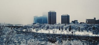 Winter on the Meewasin