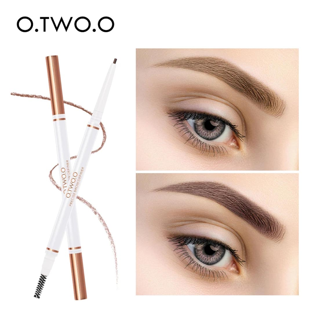 O.TWO.O Double-Ended Eyebrow Pencil