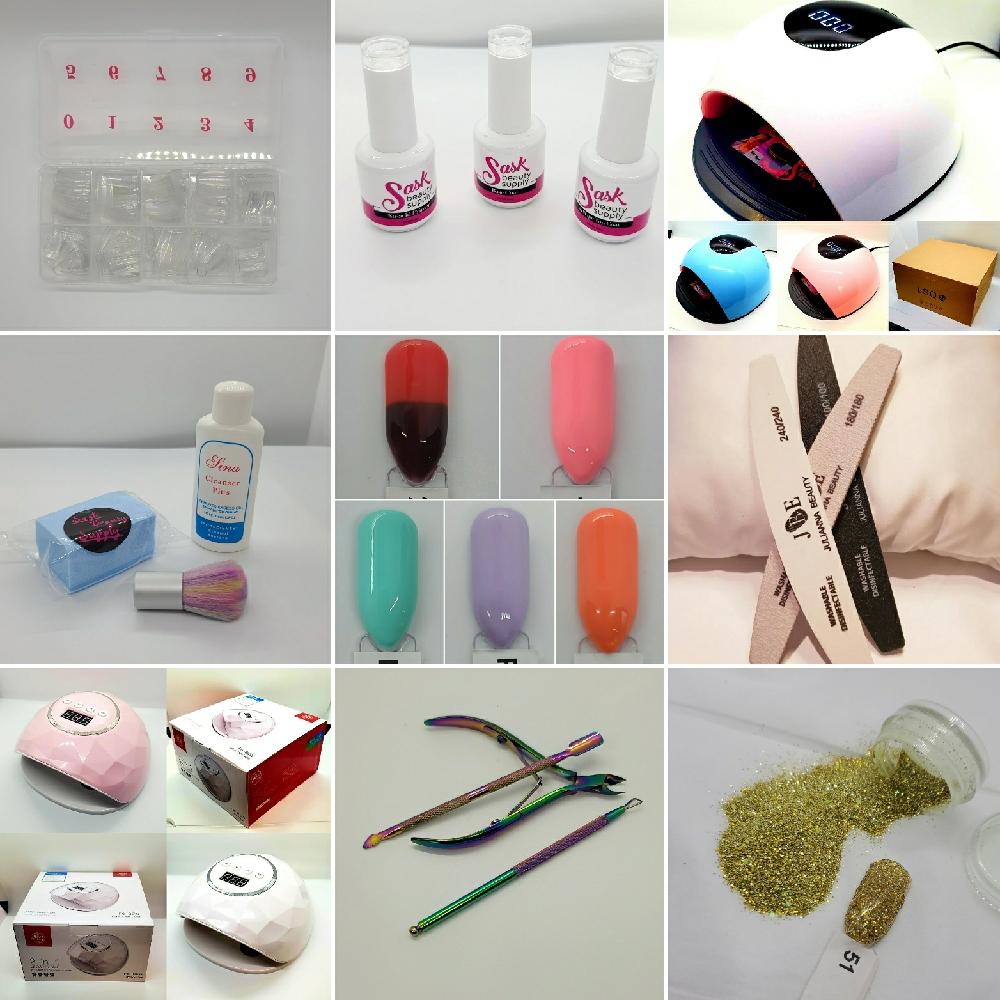 Build Your Own Custom Gel Nail Starter Kit®- Sask Beauty Supply