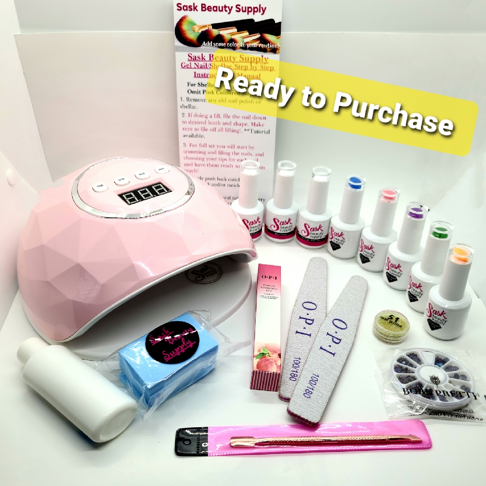 At Home Mani/Pedi Starter Kit®- Sask Beauty Supply