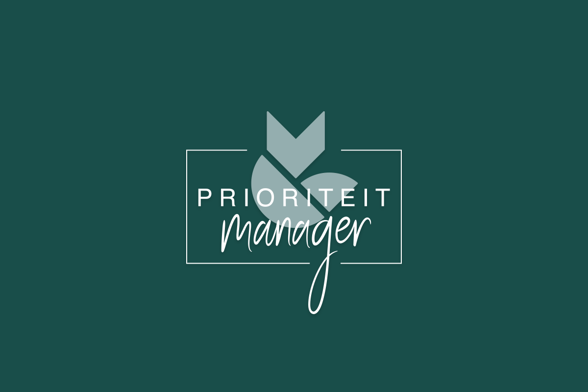 logo prioriteiten manager