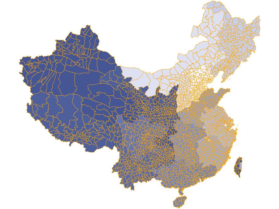 世界亞洲中國省市縣各級地圖列表 by sxlion - 推酷