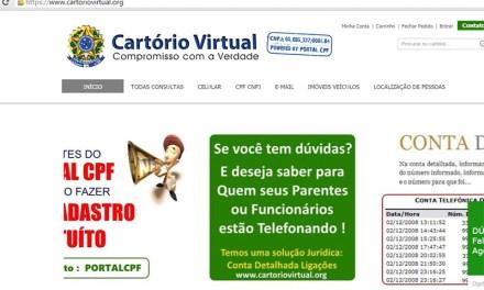 MP investiga site por venda de informações sigilosas de cidadãos brasileiros