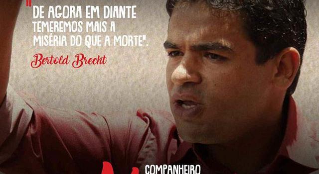 Assassinato de líder do MST na Bahia foi encomendado, afirma governador