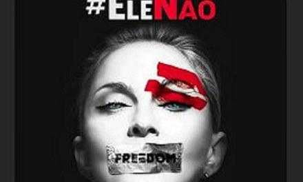 Madonna pede o fim do fascismo e adere ao movimento #EleNão