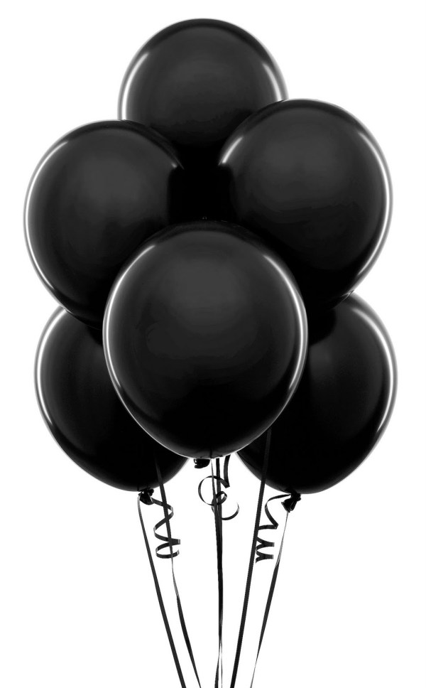 black balloon clip art