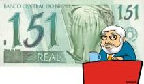 12/04/2000 - Matéria sobre a repercussão nacional da minha charge sobre o salário mínimo.