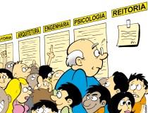 11/08/2001 - Comunidade universitária escolhe novo reitor.