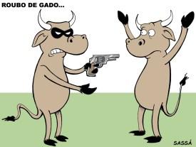 18/03/2001 - Polícia registra roubo de gado na região.