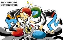 18/08/2001 - Londrina sedia encontro de motoqueiros.