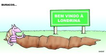 Londrina e seus buracos.