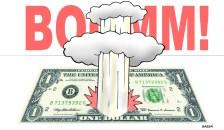 Dólar volta a subir.