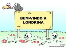 Violência explode em londrina.