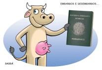 Carne brasileira é liberada para exportação.