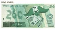 Salário mínimo é de 260 reais.