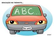 Educação no trânsito.