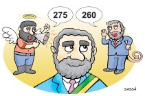 Lula ajuda a decidir o novo valor do salário mínimo.