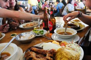 Love it or hate it. Colombian food means protein.