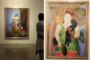 The painting of Botero's son Pedrito is the best Botero painting ever according the artist himself