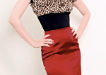 This is what high-waisted pencil skirts look like on me... but I'm not expecting.Image source: burlesquebaby