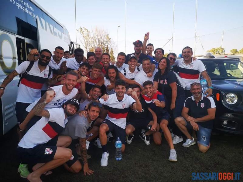 Calcio, Serie D, la Torres si salva, vince anche il Latte Dolce