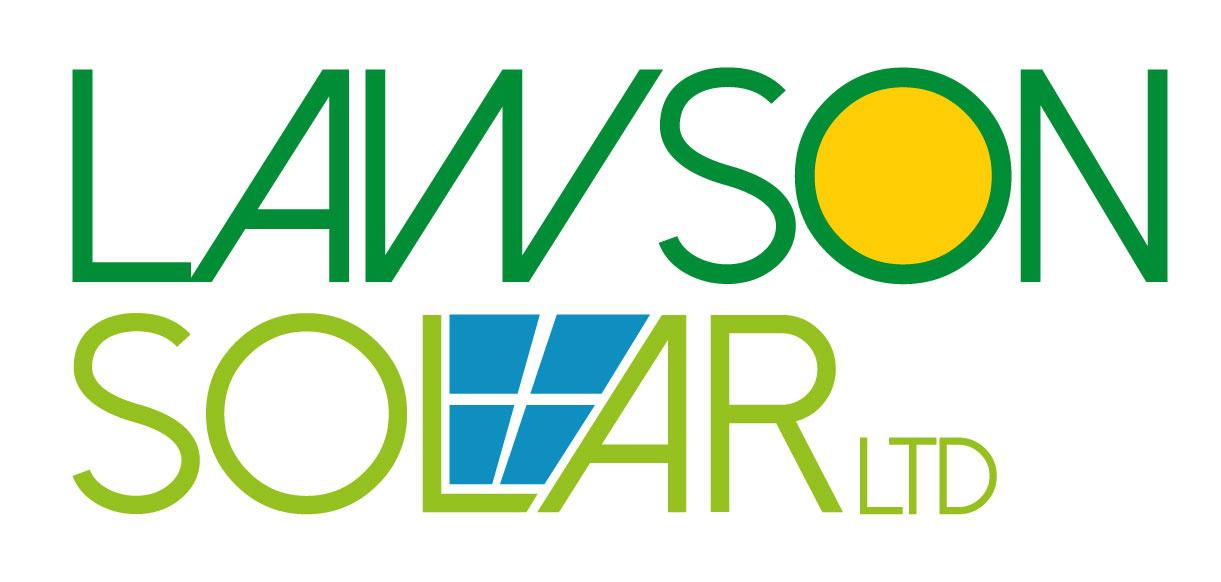 Lawson Solar logo design