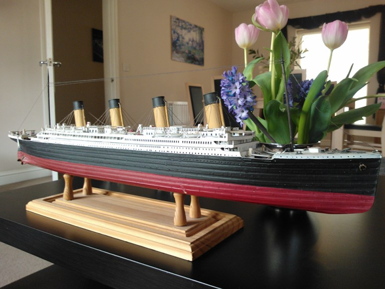 Model Construction: Titanic model