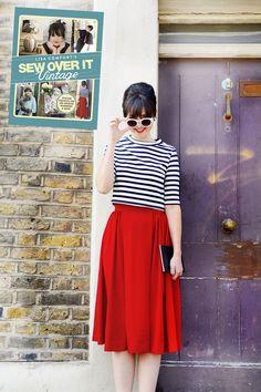 box-pleat-skirt