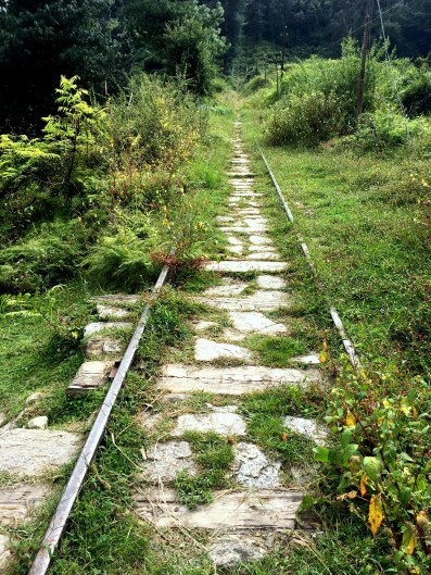 The pathway that ends at Barot....