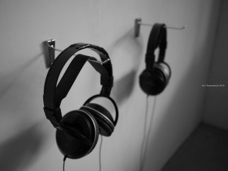 Headsets for Karl Van Laere's Performance Art