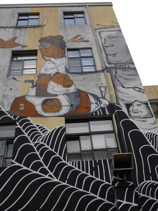 Wall Mural spotted in Artist Village — in Taipei, Taiwan.