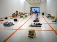 Dawang Yingfan Huang and HUB A Construction of a Dangerous Balance: A guide to refusal, disposal and separation - for a Hoarder. — at Taipei Fine Arts Museum.