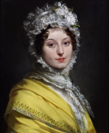 Louise de Guéhéneuc, duchesse de Montebello (1782-1856) *signed b.r.: P.P.Prud'hon *oil on canvas *55.2 x 48 cm